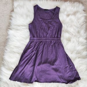 Talula sleeveless purple dress